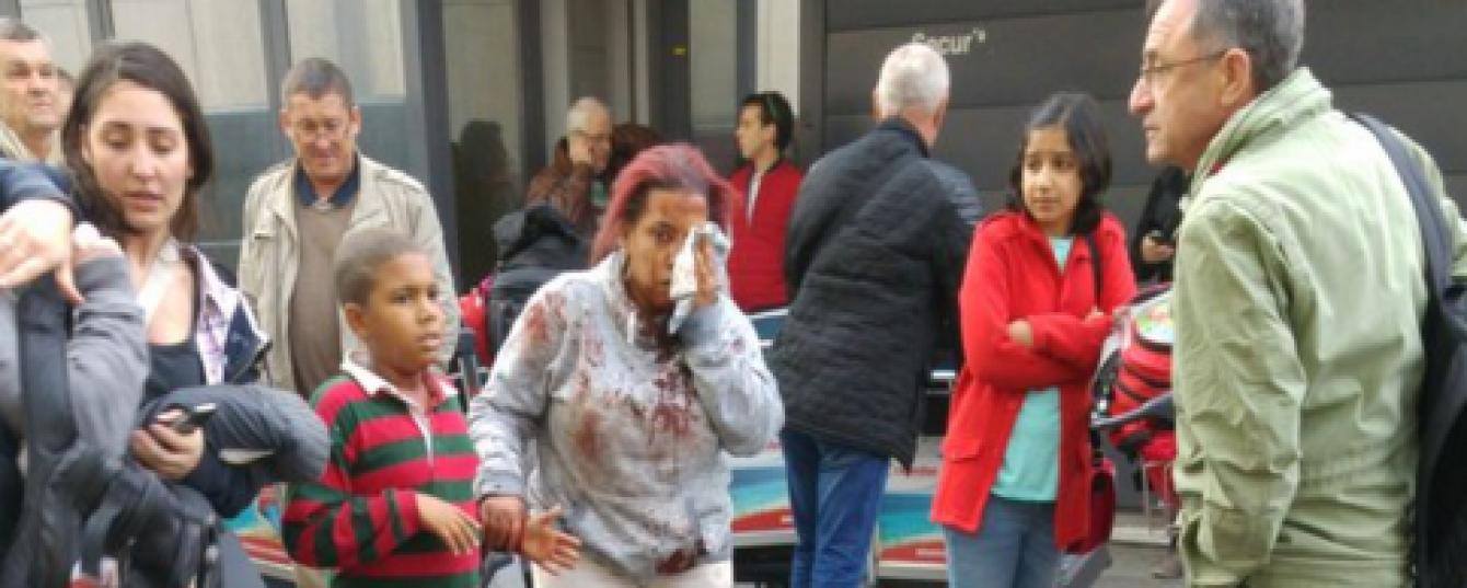 Вибухи в аеропорту Брюсселя: з'явилися перші фото та відео з місця інциденту