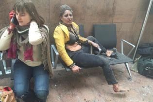 З'явилися перші дані щодо загиблих під час вибуху у аеропорту Брюсселя