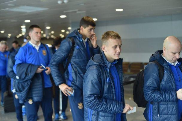 До Одеси без Хачеріді: збірна України вирушила на перший матч у 2016 році