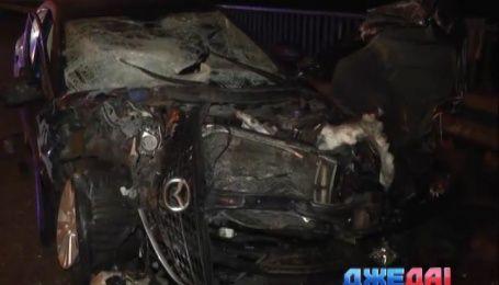 Пьяница на дороге спровоцировал аварию в столице