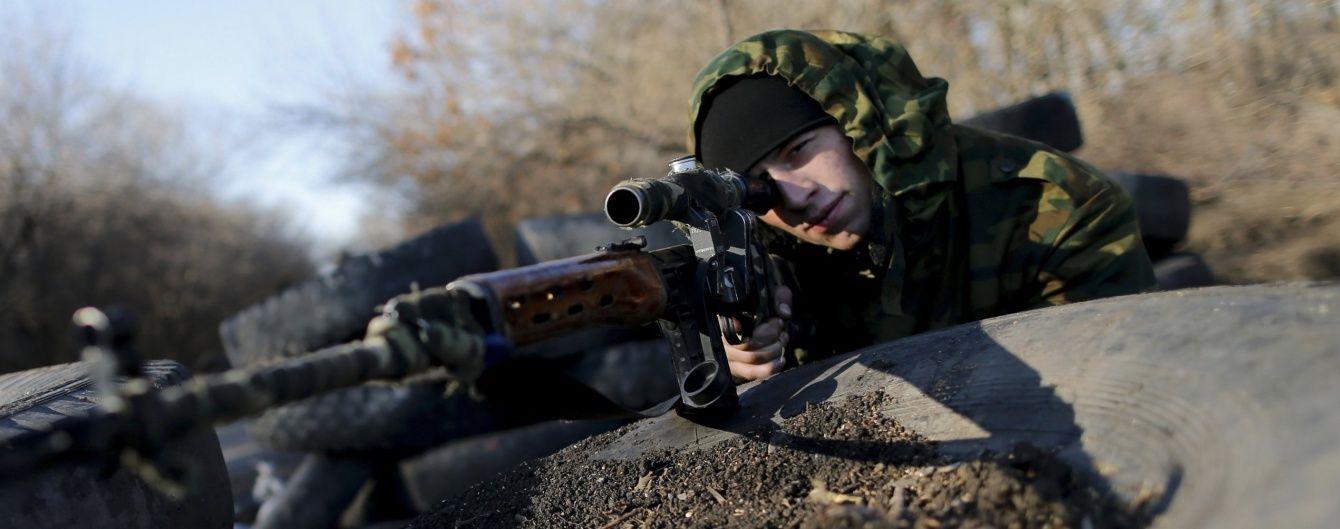 На Донбассе украинского военного подстрелил снайпер