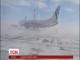 У російському Норильську потужний буревій буквально здував літак