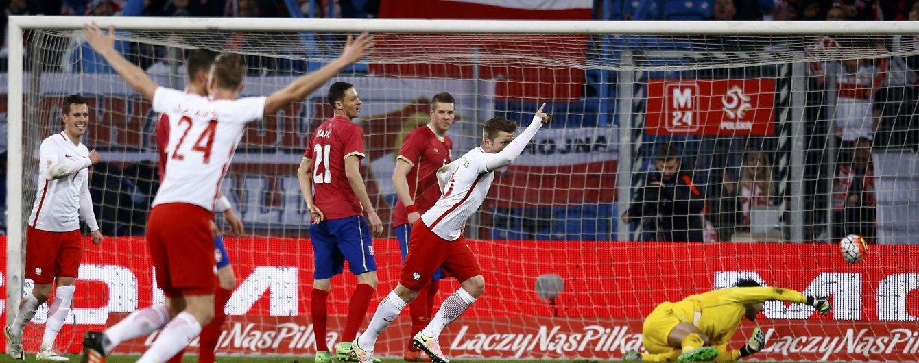 Суперник України на Євро-2016 насилу обіграв Сербію