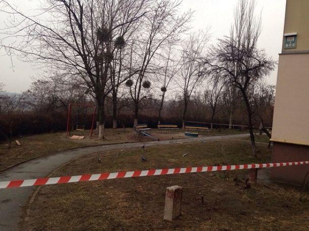 У поліції розповіли про вибух у Солом'янському районі Києва