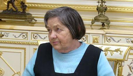 Порошенко встретился с мамой Надежды Савченко