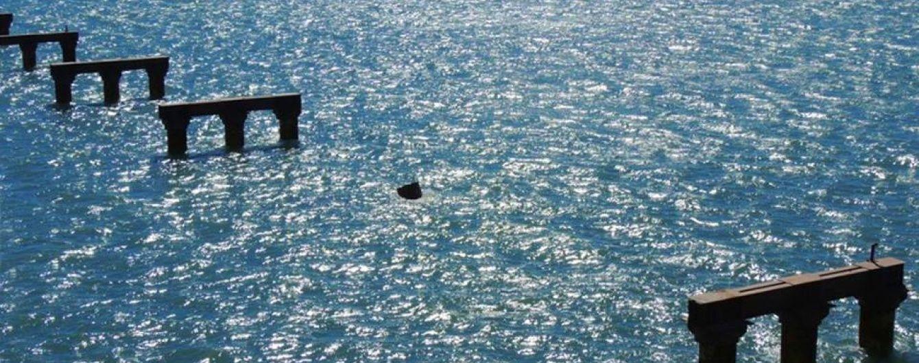 У Мережі з'явилось фото Керченського мосту після тарану турецьким судном