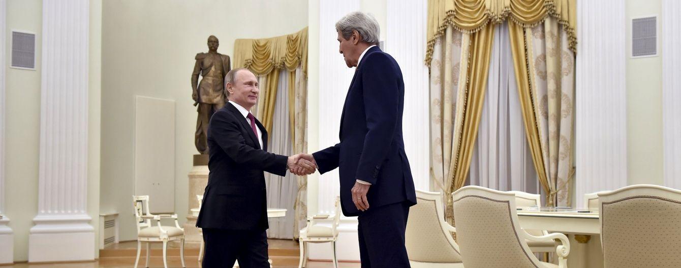 Путін заявив про взаємні зусилля РФ і США у врегулюванні конфліктів