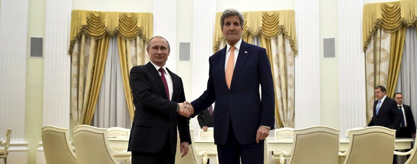 Все, що треба знати про переговори Керрі і Путіна