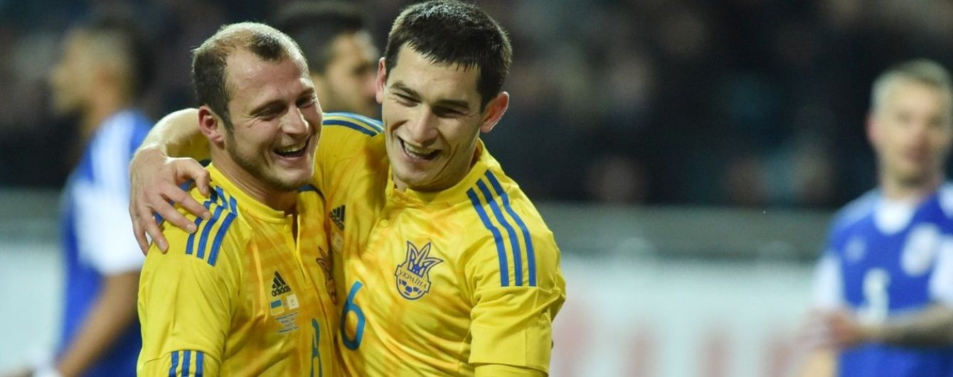 Перемога над Кіпром стала сотою для збірної України в її історії