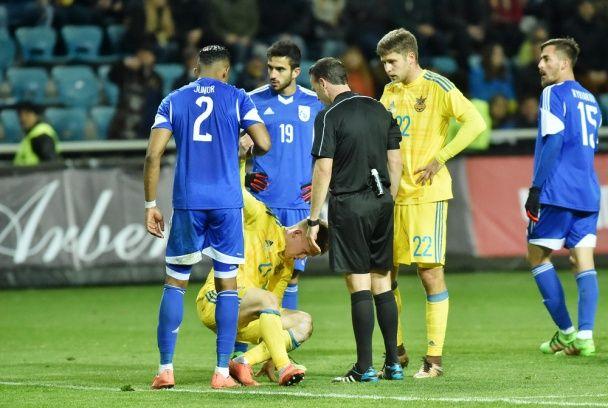 Ювілейна перемога. Як збірна України перемагала в Одесі кіпріотів