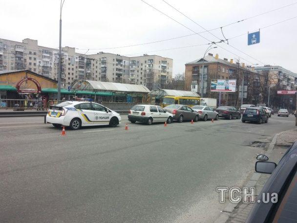 У Києві швидка з бійцями АТО потрапила в аварію