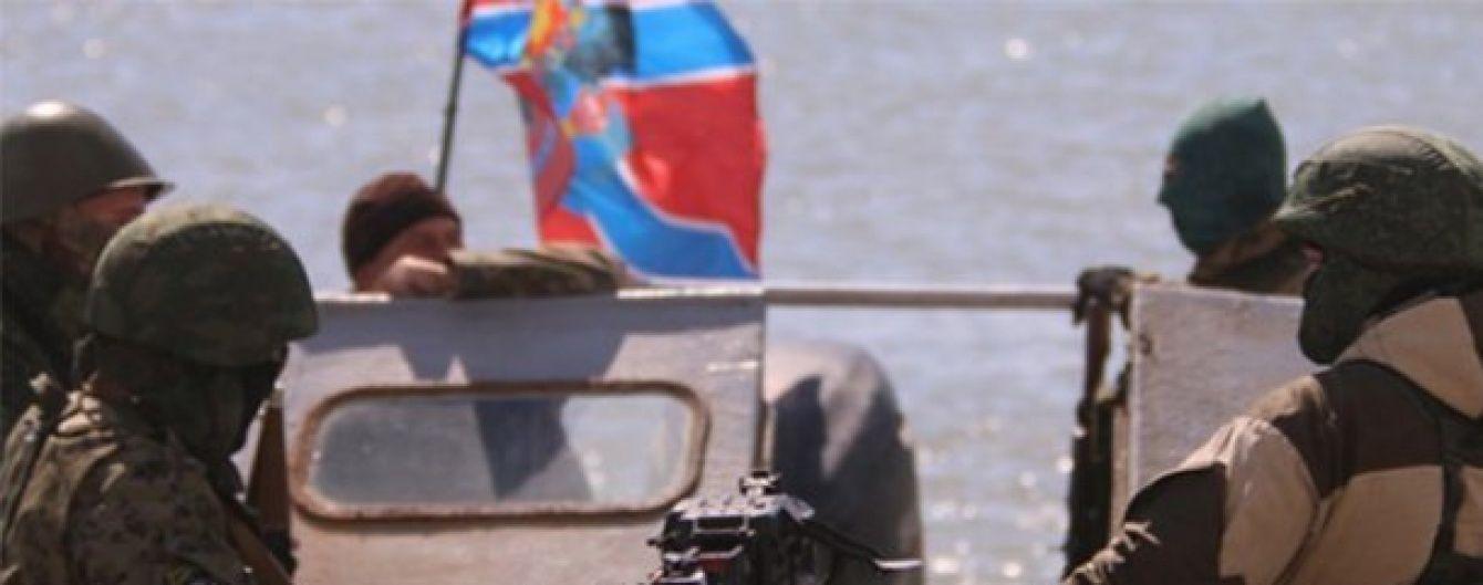 """На Донбасі бойовики """"конфісковують"""" катери у населення для """"флоту ДНР"""""""