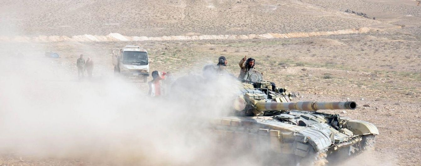 """У Мережі з'явилося відео підриву турецьких танків бойовиками """"ІД"""""""