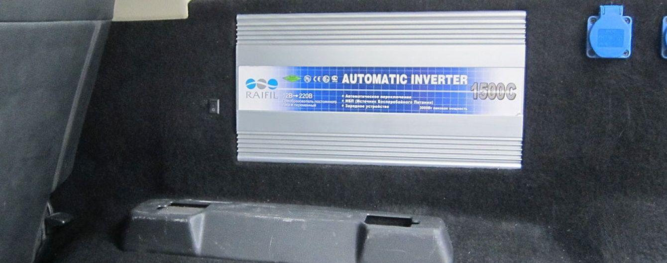 Рекомендации Фортер - как установить автомобильный инвертор