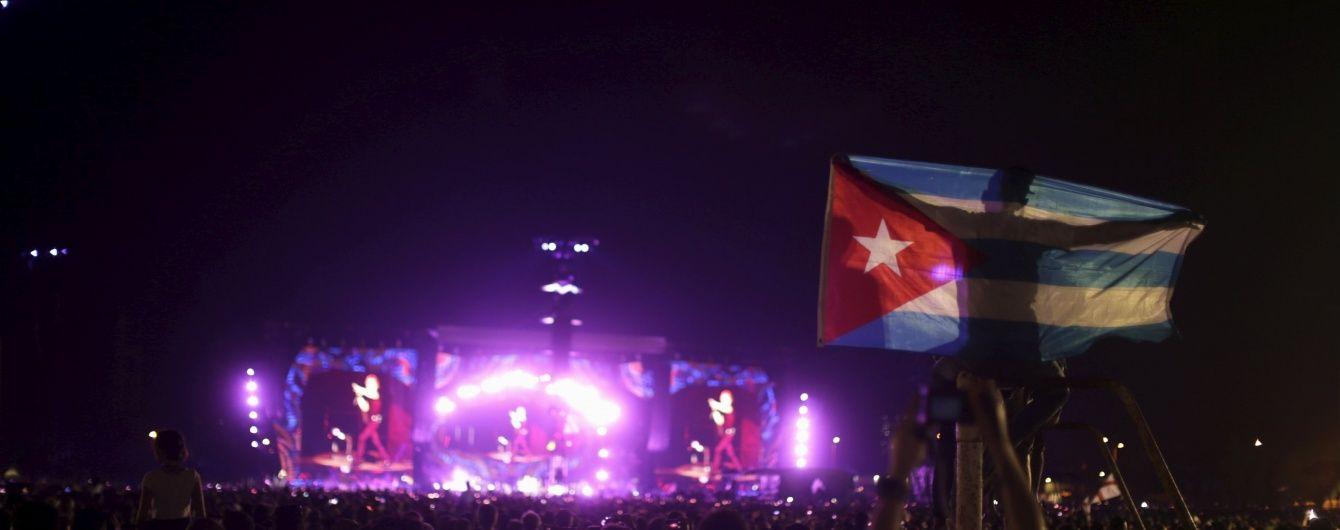 The Rolling Stones отыграли исторический концерт на Кубе