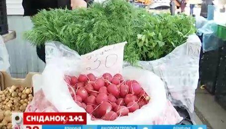 Українські овочі витісняють з прилавків закордонні