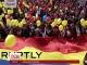 Тисячі людей вийшли на вулиці Кишинева вимагати об'єднання Молдови із сусідньою Румунією
