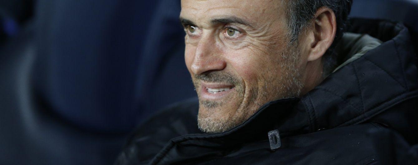 """""""Барселона"""" збирається подовжити угоду з Луїсом Енріке"""