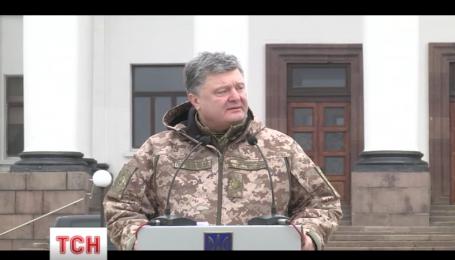 Президент Украины назвал число погибших во время войны