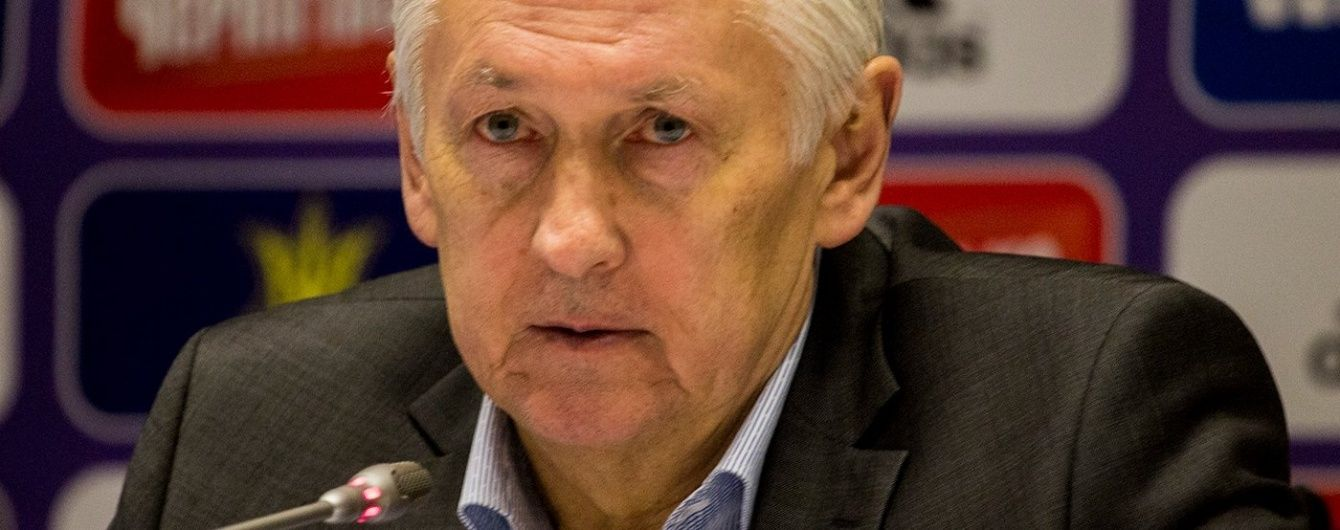 Фоменко пояснив причину невиразної гри України в матчі з Уельсом