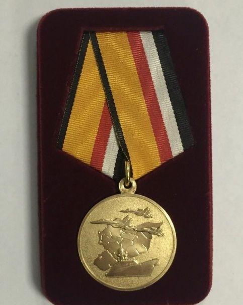 РФ замовила 10 тисяч медалей для учасників війни в Сирії