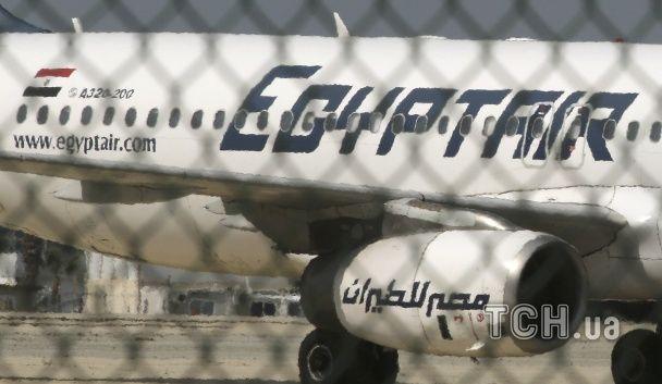 З'явилися перші фото викраденого літака EgyptAir в аеропорту Кіпру