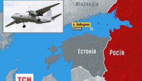 Российский самолет незаконно находился на территории Эстонии