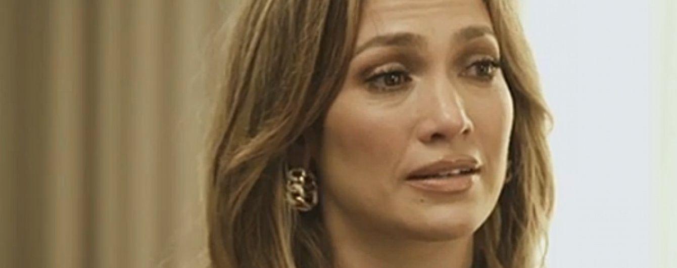 Дженніфер Лопес зворушливо розплакалась під час розмови про своїх малюків