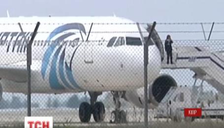 Полиция задержала похитителя египетского самолета