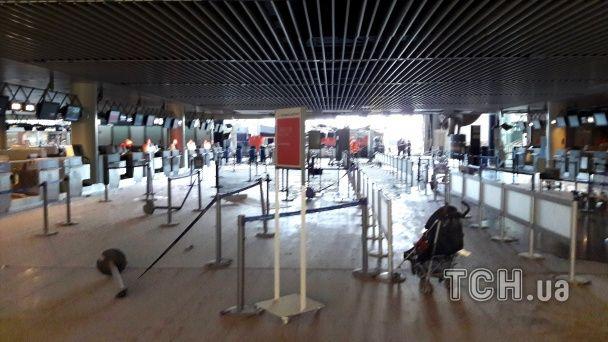 Бельгийские власти показали, как выглядит аэропорт в Брюсселе после взрывов
