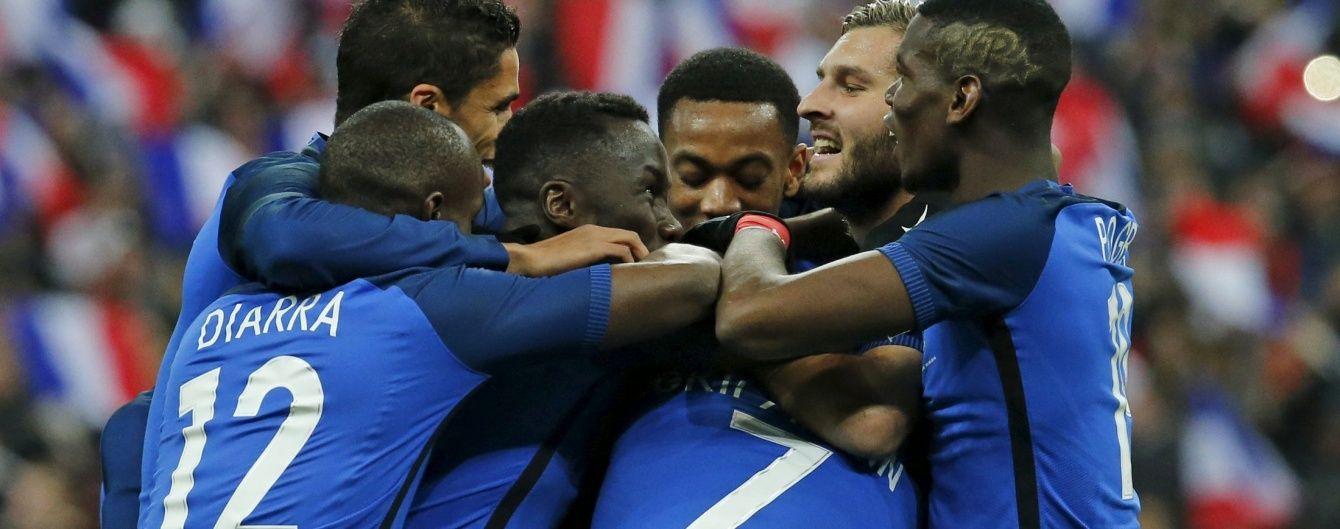 Збірна Франції вдома ефектно перемогла росіян