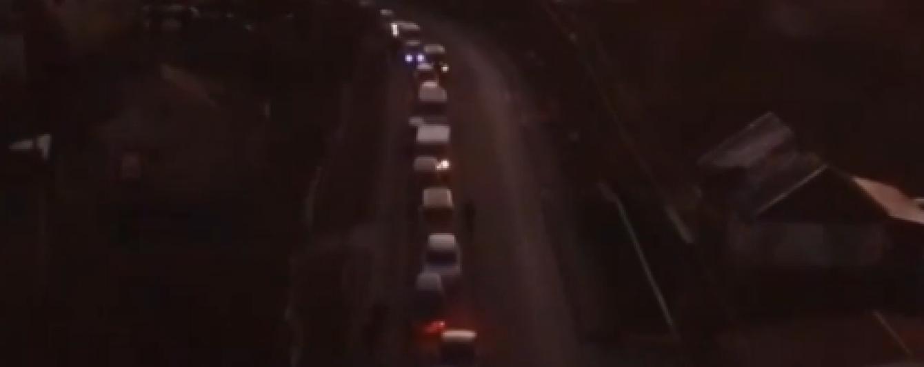 На українсько-польському кордоні стоять кілометрові черги автомобілів