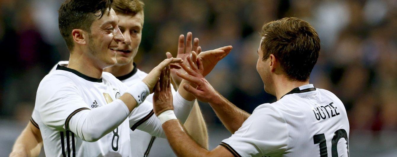 Німеччина розгромила Італію у товариському матчі