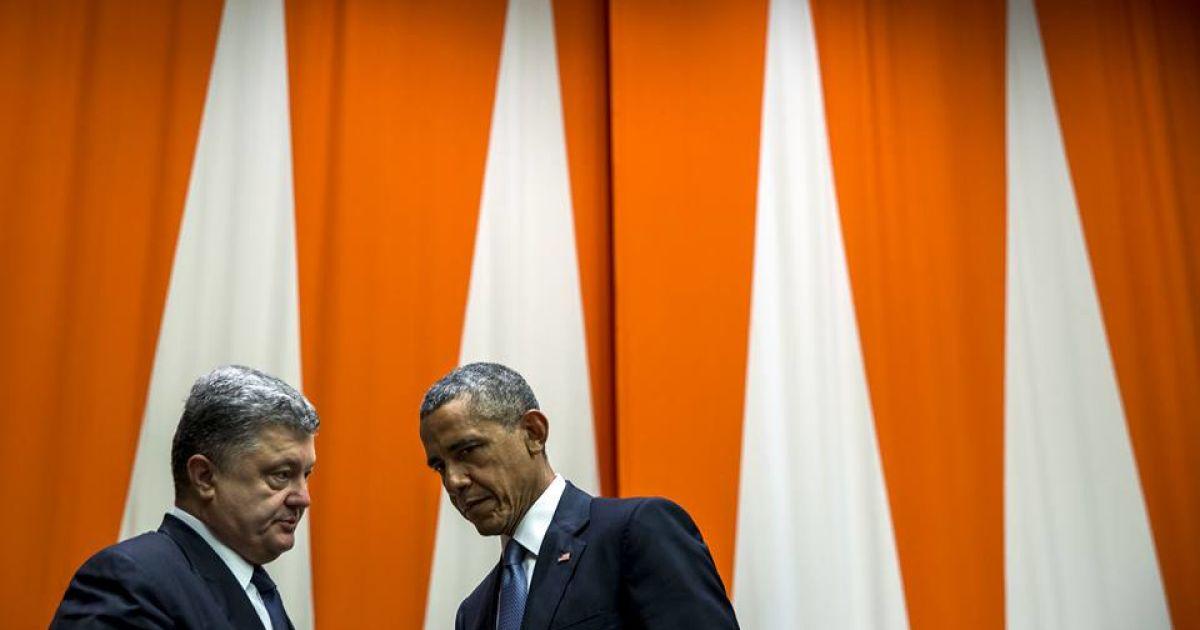 У Порошенко приоткрыли занавес над разговором президентов Украины и США