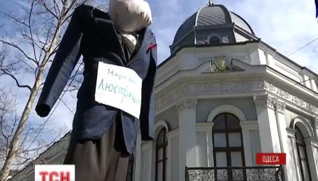 В Одессе протестуют против назначения новым прокурором Николая Стоянова