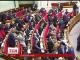 222 депутати сумарно налічують фракції БПП та Народного фронту