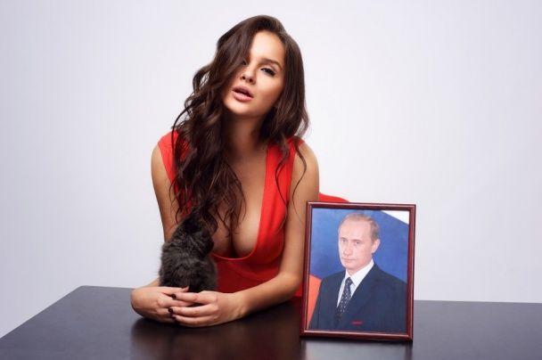 """Що постить у соцмережах нова """"фаворитка"""" Путіна"""