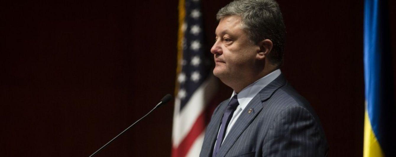 Порошенко виступив проти розриву дипломатичних відносин із Росією