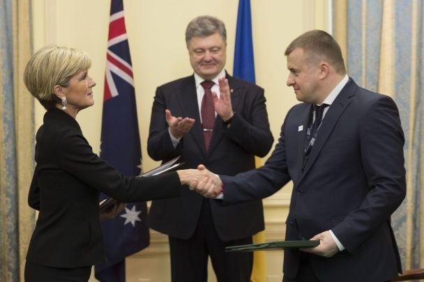 Україна й Австралія підписали в США угоду щодо ядерної енергії