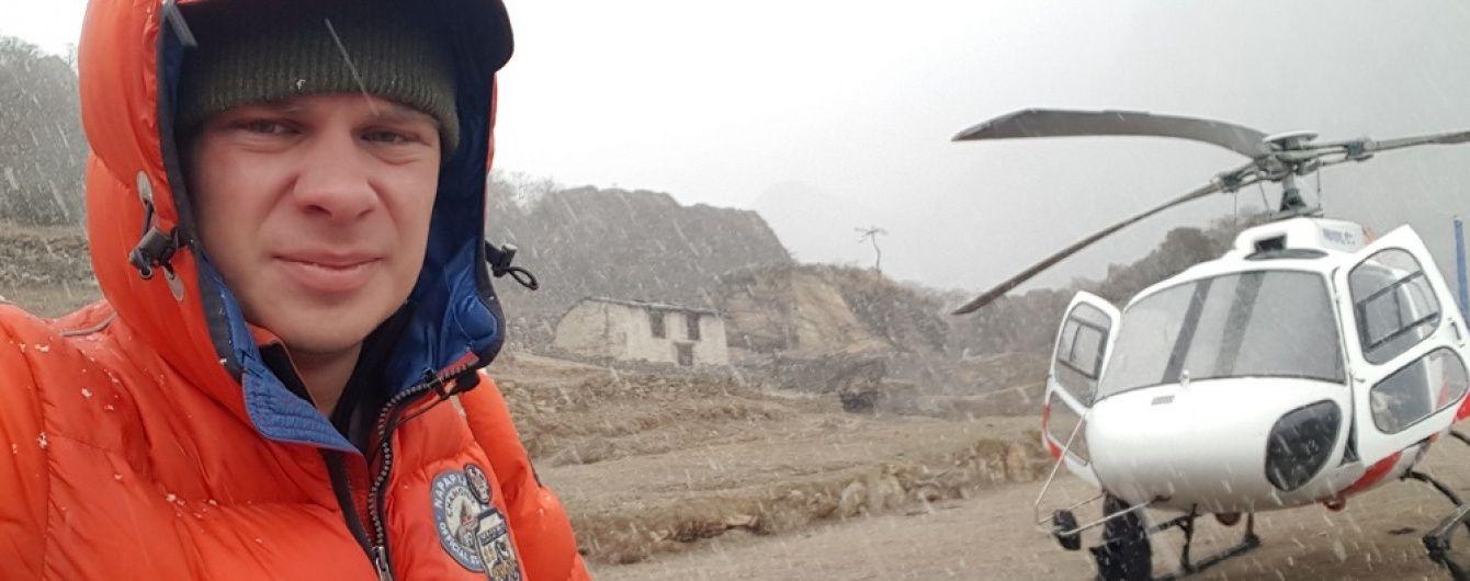 Комарова евакуювали із Евересту одразу до госпіталю