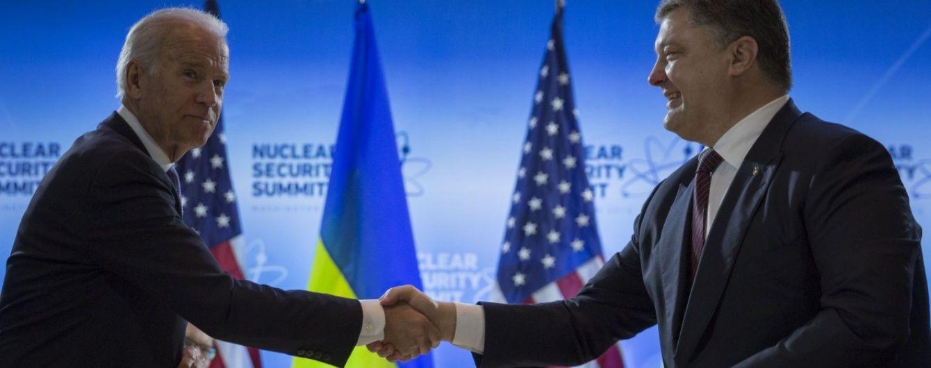 Байден попередив Порошенка, що без нового уряду не буде кредитів МВФ