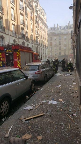 У центрі Парижа пролунав потужний вибух