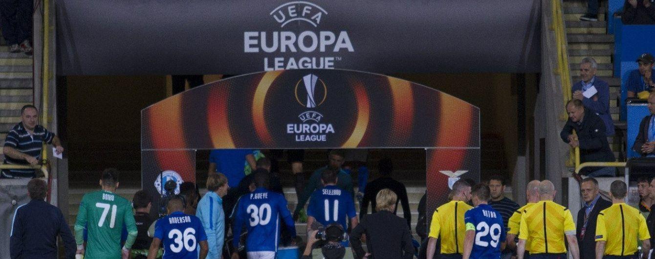 """Україна не втратить місце в єврокубках через дискваліфікацію """"Дніпра"""""""