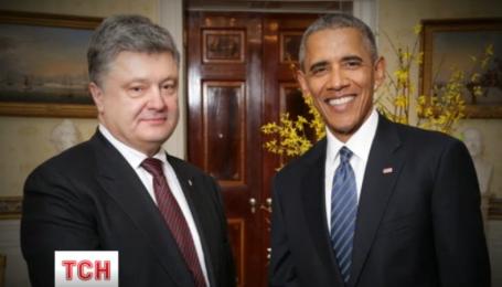 Петро Порошенко та Барак Обама таки переговорили тет-а-тет