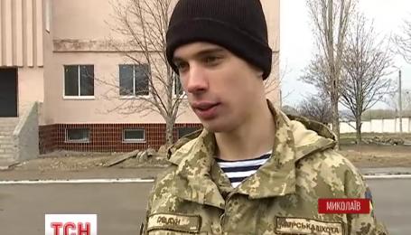 Нахимовский кадет Андрей Гладун стал николаевским морпехов