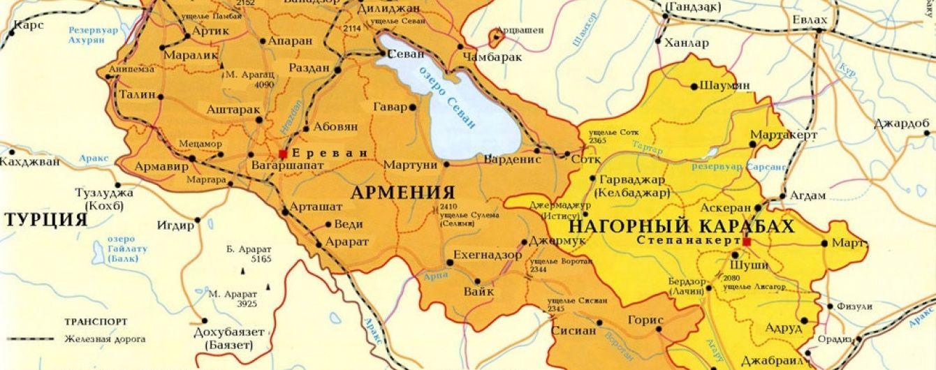 Вірменські військові стверджують про просування в Нагірному Карабасі