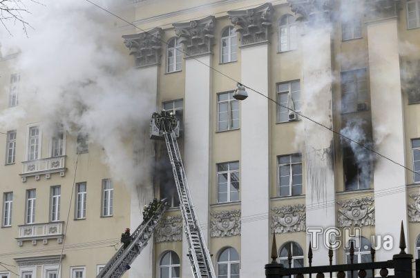 Російські пожежники проґавили початок масштабного займання у Міноборони – ЗМІ