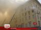 У російському Міноборони під час пожежі обрушилась покрівля будівлі