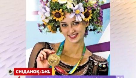 Українська гімнастка Ганна Різатдінова стала дворазовою чемпіонкою Кубка світу в Італії