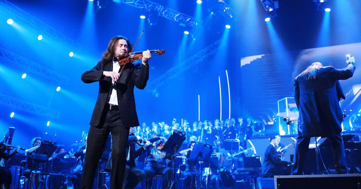 """Rock Symphony в Киеве. Ф ото: Мария Андрийчук, """"Альянс-шатро""""."""